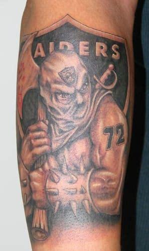 raider nation tattoos complex