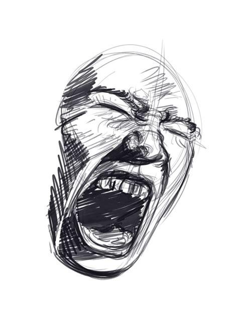 draw screaming faces  tutorial javi  draw
