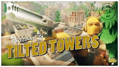 Tilted Towers Fortnite Battle Royale Raptor 1080p