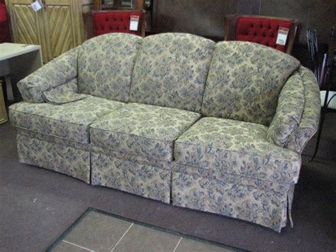 Patterned Sleeper Sofa by Upholstered Sleeper Sofa In A Beautiful Blue Floral Print