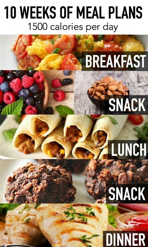 weeks  meal plans  calories put