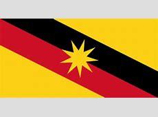 Logo dan Bendera Negeri Sarawak Persekutuan Tanah Melayu