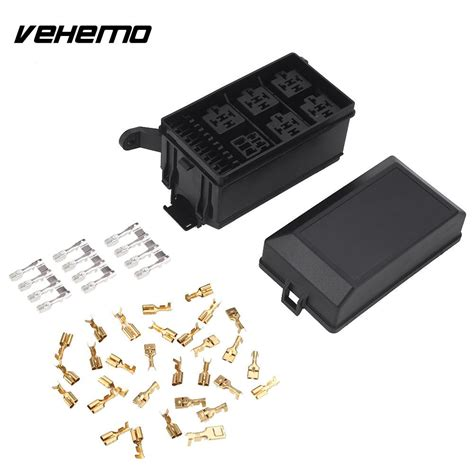 Vehemo Premium Car Fuse Box Replacement With Pins