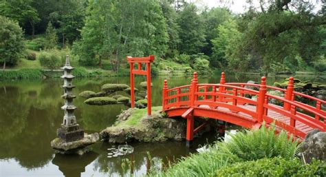 Japanischer Garten Vendee by Le Jardin Japonais Asahi International Association