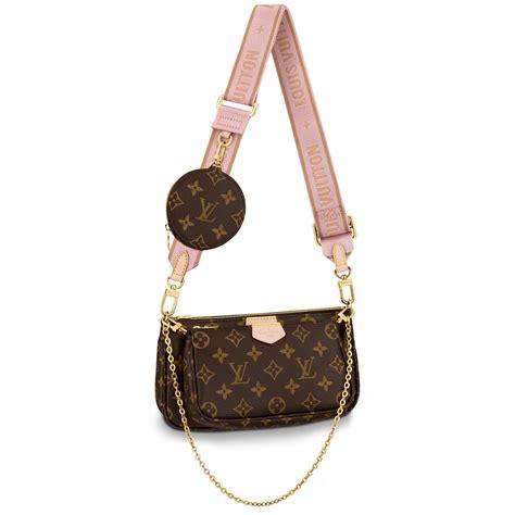 multi pochette accessoires monogram canvas handbags louis vuitton