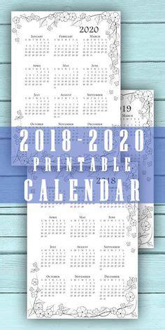year calendar printable template calendar