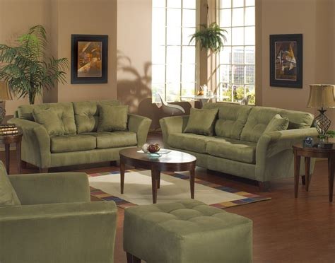 Beautiful Decoration Green Living Room Furniture Sets For