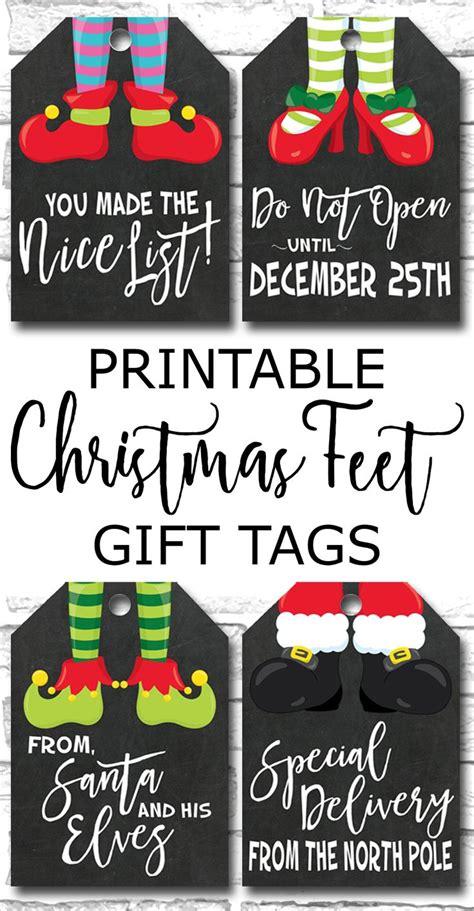 printable christmas gift tags holiday gift tags