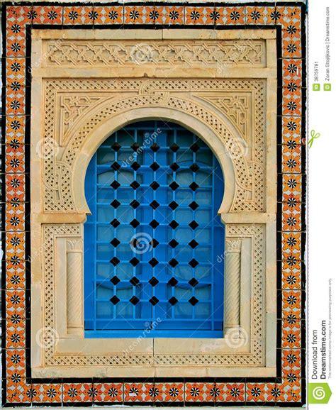 decorative window stock image image  interior islamic