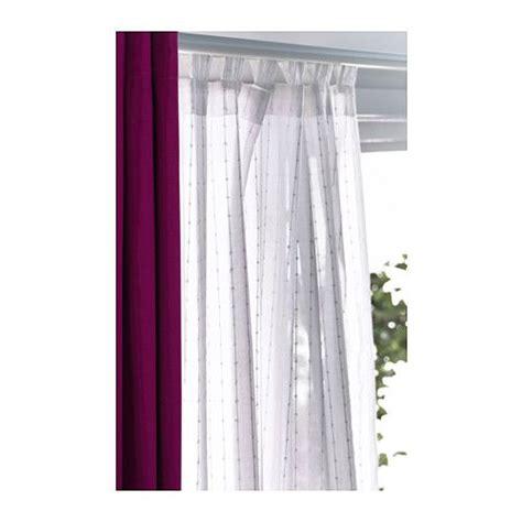 Sheer Curtain Panels Ikea by Matilda Sheer Curtains 1 Pair White Sheer Curtains