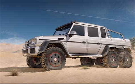 Wallpaper Mercedes Benz G63 Amg 6x6, Six Wheel Drive, G