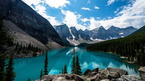 Moraine Lake Canada 4K Wallpapers HD Wallpapers ID #18306