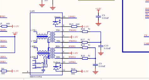With Magnetics Transformer Ethernet Port