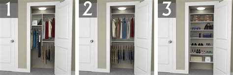 3 Ft Closet Organizer by Design Ideas For 6 Foot 3 Foot And 2 Foot Reach In