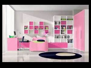decoration chambre fille youtube With deco chambre jeune fille