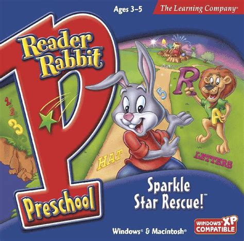 aussie software educational software stem 992 | Reader Rabbit Preschool Sparkle cover 345x345@2x