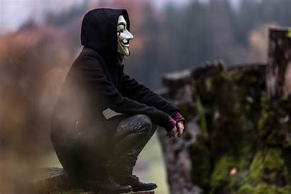 Mask Anonymous Guy Wallpapers 4k Anonymus 5k