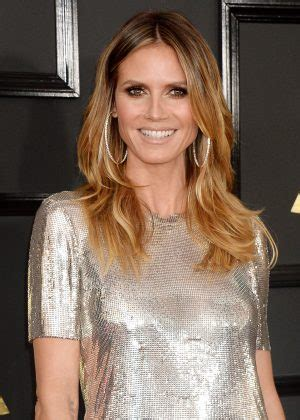 Heidi Klum Grammy Awards Los Angeles Gotceleb