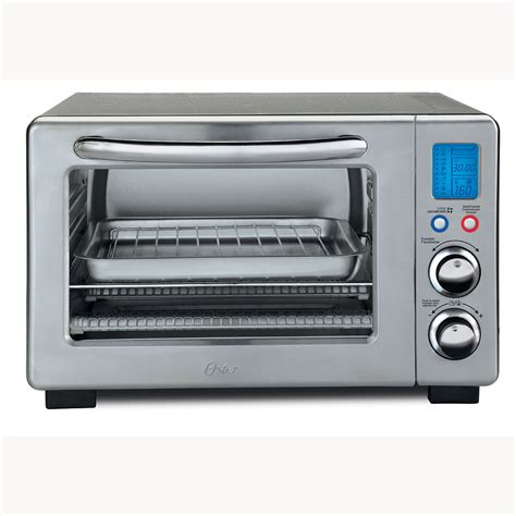 Oster Stainless Steel Convection Countertop Oven by Oster 174 6 Slice Digital Countertop Oven With Convection