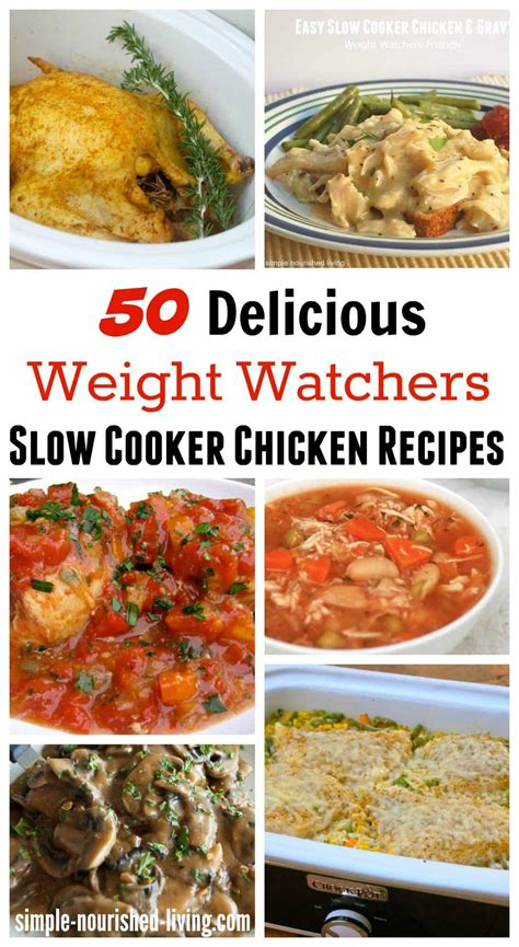 cooking light slow cooker recipes healthy slow cooker chicken recipes for weight watchers