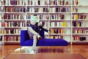 library books men sofa reading HD wallpaper