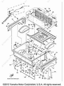 Yamaha Side By Side 2005 Oem Parts Diagram For Carrier
