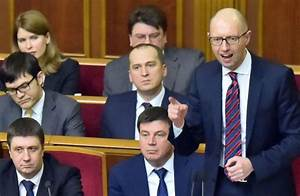 Ukraine's Prime Minister Fights for His Position