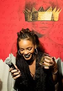 Rihanna - 8th Album Artwork Reveal for 'Anti' at MAMA ...
