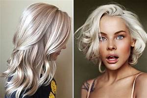 Blond Grau Haarfarbe : die haarfarben trends 2018 ~ Frokenaadalensverden.com Haus und Dekorationen