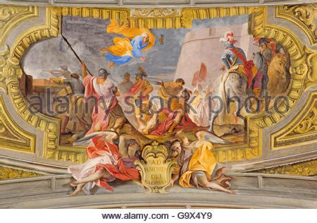siege baroque rome italy march 10 2016 the vault baroque fresco the