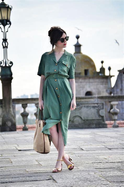 fabulous green dress outfits ideas   summer long
