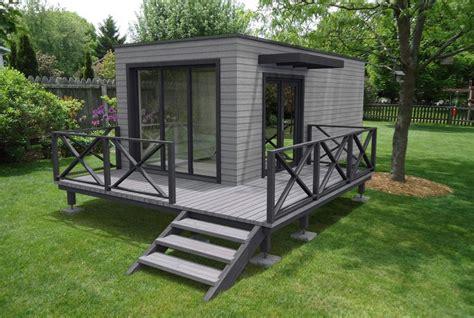 bureau aménagé studio de jardin sans permis de construire