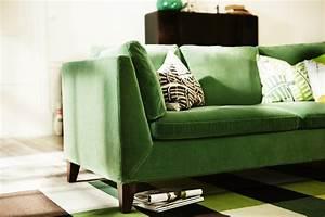 canape en tissu vert ikea stockholm With tapis de marche avec canapé velours ikea