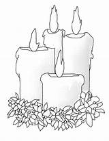 Coloring Candle Pages Christmas Bing Candles Winter Printable Burning Colouring Patterns Sheets Templates Adult Pergamano Flowers Printables Decorated Colors Album sketch template