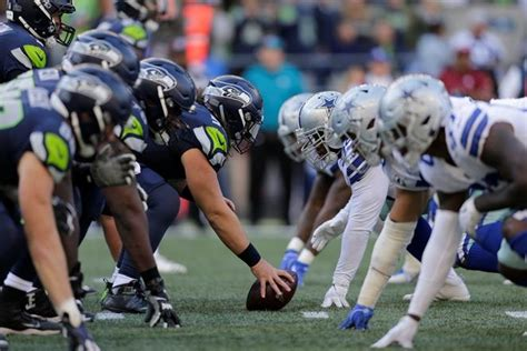 seahawks face cowboys  evenly matched nfc wild card