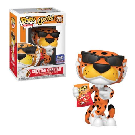 Funko POP! Ad Icons: Chester Cheetah [with Bag] #78 ...