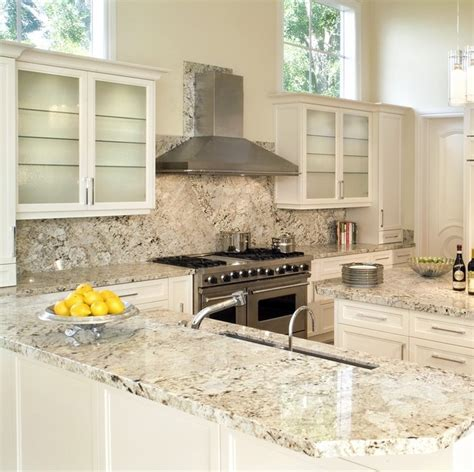 latinum granite traditional kitchen miami by