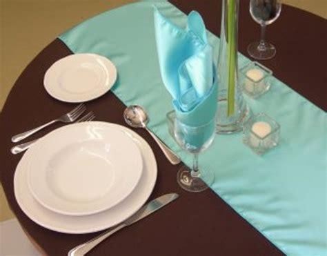 tiffany blue table runner aqua blue table runner