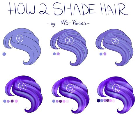 How To Shade Hair by Pts How To Shade Hair Details In Desc By Ms Ponies