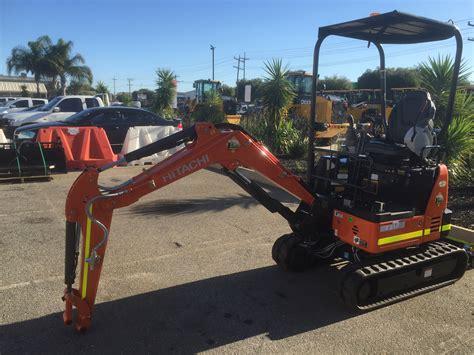 hitachi zxu  mini excavator  hire perth