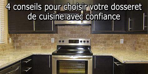 dosseret cuisine pas cher 4 conseils pour choisir votre dosseret de cuisine avec confiance