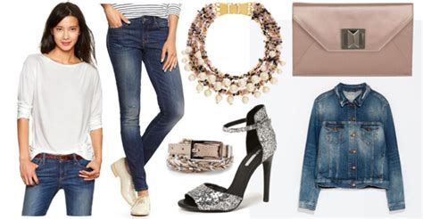10 Ways To Dress Up Jeans And A T-shirt