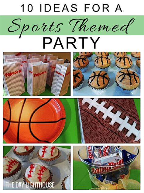 ideas   sports themed party  diy lighthouse