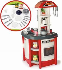Smoby elektronische tefal studio kuche rot spielkuche for Kinderküche smoby