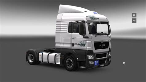 ets  efficient    man mod fuer eurotruck