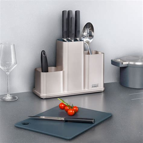 Counterstore Kitchen Worktop Organiser With Chopping Board