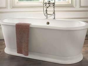 Frei Stehende Badewanne : freistehende badewanne york tondo aus acryl wei gl nzend 180x85x63 oval nostalgie ~ Udekor.club Haus und Dekorationen