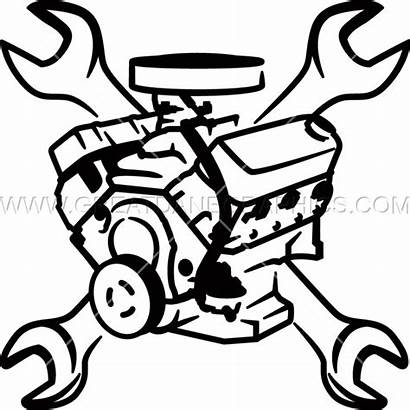 Engine Block Clipart Wrenches Wrench Clip Production