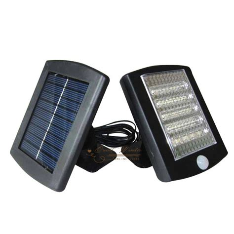 freeshipping 36led solar motion detection sensor l