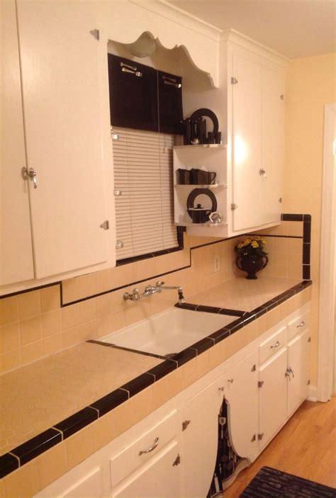1930s kitchen I did a nice job restoring the original 1939
